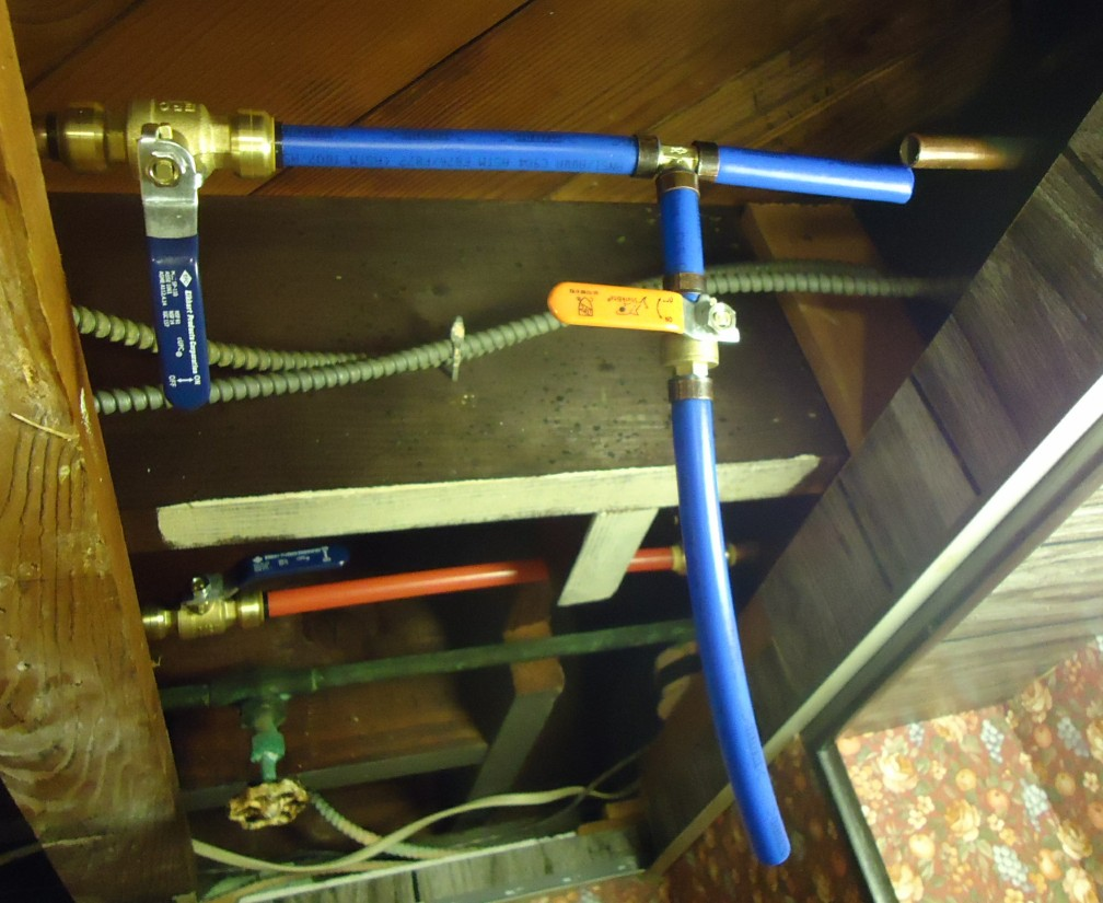 How To Splice Pex Into An Existing Copper Or Cpvc Line